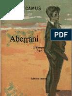 Abeṛṛani n Albert Camus