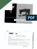 Pfaff 90 Manual