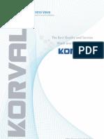 KORVAL Catalogue(11년 5월)