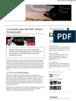 La entrada negra del PSOE - Dólares fundacionales