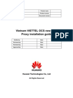 Vietnam VIETTEL OCS New DCC Proxy Installation Guide