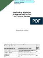 Admission Handbook Hufs