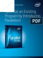 Optimize an Exsisting Program by Introducing Parallelism
