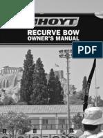 2005 Recurve Manual