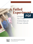 Failed Experiment-SEF Full Report