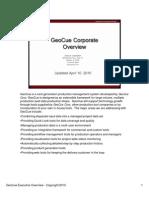 Geocue Corporate Overview