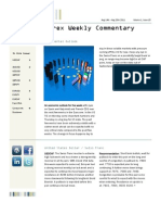FX Weekly Commentary Aug 14 - Aug 20 2011 Elite Global Trading