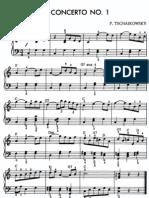 Tchaikovsky -Concerto No 1