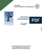SITUACIÓN LABORAL DE LOS PROFESIONALES EN PASTO, 2010