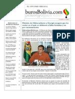 Hidrocarburos Bolivia Informe Semanal Del 08 Al 14 Agosto 2011
