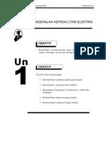 Teknologi Elektrik 1 E1063 - Unit 1