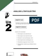 Teknologi Elektrik 1 E1063 -Unit 2