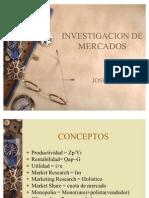 Investigacion de Mercados Introduccion
