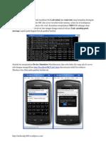 Pembahasan Tugas Aplikasi Web Mobile Blackberry