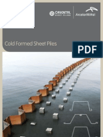 Cold Formed Sheet Piles