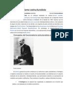 Funcionalismo estructuralista investigación