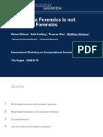 Counter Forensics Multimedia Investigations Darren Chaker