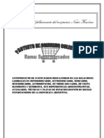 Proyecto CCT trabajo Supermercados