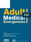 Adult Medical Emergencies Handbook