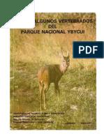 Guía de Algunos Vertebrados del Parque Nacional Ybycuí - PDF