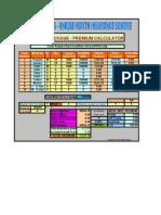 Jeevan Arogya Premium Calculator 903(1)
