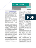 Informe Semanal #33 del Vocero de la Secretaría de Hacienda y Crédito Publico