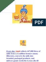 Scm Project Amul Final Ppt