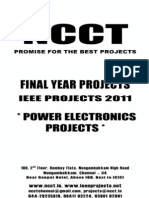 Power Electronics Project List