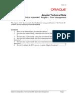 Adapter TN 004 Adapter Error Management