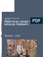 Practical Guide to Insulin Therapy