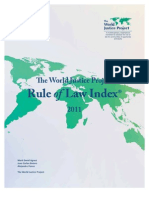 World Justice Project - Rule of Law Index