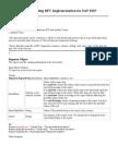 Understanding BPT Implementation