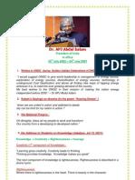 Dr APJ Abdul kalam, a great patriotic teacher, Ex-President of India