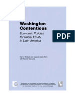 Washington Contentious. Economic Policies for Social Equity in Latin America