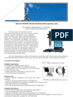 UNI 50 Microwave Radio Transceiver Specifications