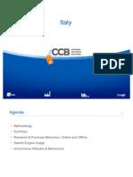 Consumer Commerce Barometer Italy
