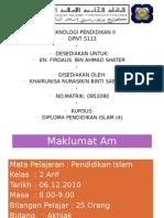 Pendidikan Islam Tahun 2 [Akhlak]