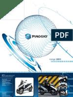 Piaggio Brochure 2011