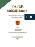 PAPER Negoisasi