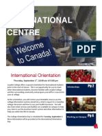 Welcome Newsletter - Loyalist College
