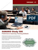SANAKO Study 500 v 5.00 Brochure_web