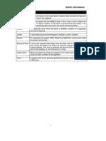 Bentel User Manual