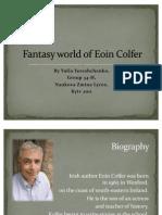 Fantasy World of Eoin Colfer-Yereschenko