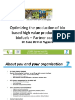 Optimizing the Production of Bio Based High Value Products and Biofuels