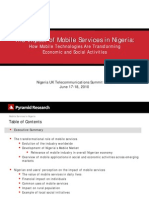 The Impact of Mobile Services in Nigeria_Pyramid Presentation_ Nigeria Summit_London 2010