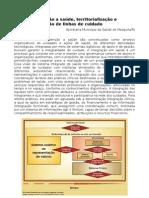 Redes de Ateno a Sade Territorializao e Implementao de Linhas de Cuidado