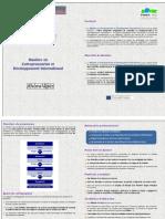 Presentation Mastere FEFEDI