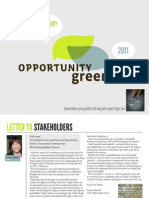 Opportunity Green 2010 Greening Report