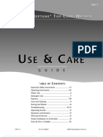 Use and Care Guide - 2206679