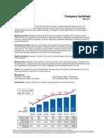 Experian India Factsheet - May 2011